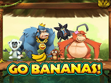 Go Bananas! – веселый онлайн игровой автомат в казино на реальные деньги