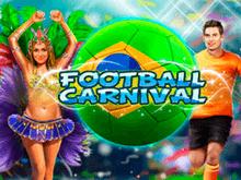 Играйте в аппарат Football Carnival онлайн